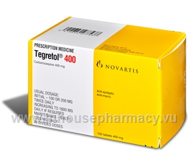 Tegretol 400mg 100 Tablets/Pack
