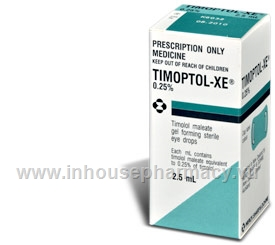 Timoptol XE 0.25% 2.5ml/Pack