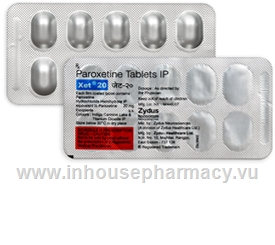 Xet 20mg 10 Tablets/Strip