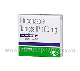 Zocon 100mg 4 Tablets/Strip