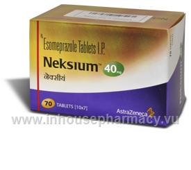 Neksium 40mg 70 Tablets/Pack