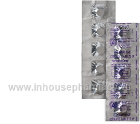 Siphene 100mg 5 Tablets/Strip