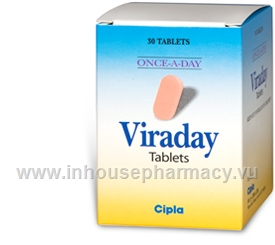 Viraday 30 Tablets/Pack