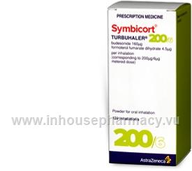 Symbicort Turbuhaler 200/6 120 Doses/Pack