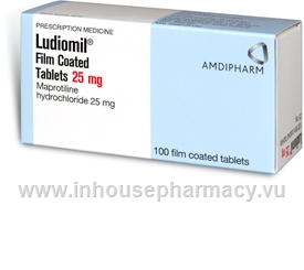 Ludiomil 25mg 100 tablets/pack