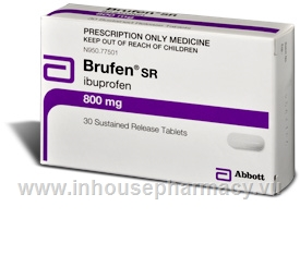 Brufen Retard 800mg 30 Tablets/Pack