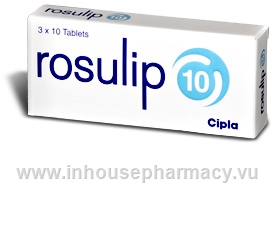 Rosulip 10 30 Tablets/Pack