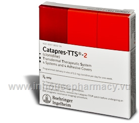 Catapres-TTS-2 4 Systems/Pack