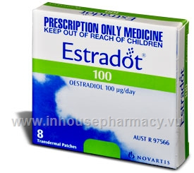 Estradot 100mcg 8 Patches/Pack (Aust)