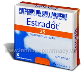 Estradot 25mcg 8 Patches/Pack (Aust)