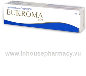 Eukroma Skin Lightener Cream 4% 20g/Tube