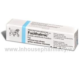 Fucithalmic Eye Drops 5mg/Tube (Fusidic Acid)
