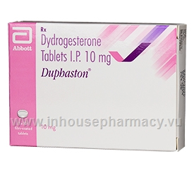 Duphaston 10mg 10 Tablets/Strip