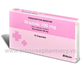 Itrazole 100mg 15 Capsules/Pack