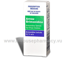 Arrow Brimonidine Eye Drops 0.2% 5ml/Pack