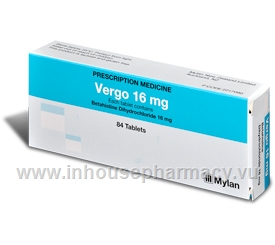 Vergo16 84 Tablets/Pack
