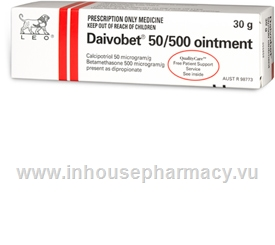 Daivobet 50/500 Ointment 30g/Tube