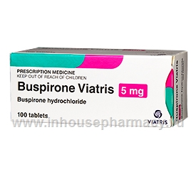 Buspirone 5mg 100 Tablets/Pack