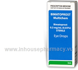 Bimatoprost (Bimatoprost 0.03%) Eye Drops 3ml/Pack